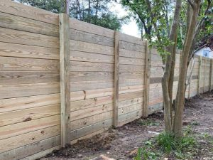 Wood Privacy Fence in Richmond Virginia